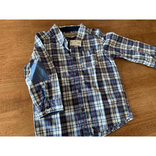 エイチアンドエム(H&M)のチェックシャツ 92(ブラウス)