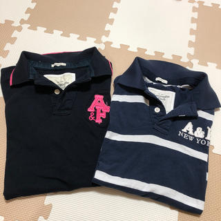 Abercrombie&Fitch - Abercrombie&Fitch  ポロシャツ2枚セット  メンズ