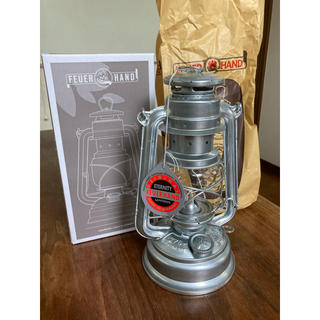【新品・未使用】Feuerhand Lantern 276 Zink