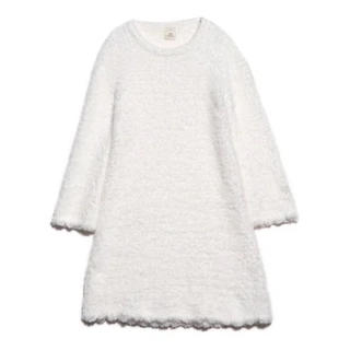 gelato pique - ジェラートピケ スカラップドレス オフホワイト