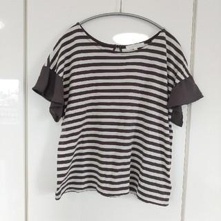 grove - 【お値下げ】【grove】ボーダー Tシャツ トップス カットソー