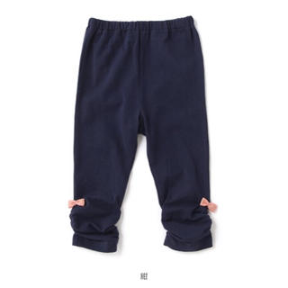 sense of wonder - ベイビーチアー 90cm   ネイビー リボン付き パンツ