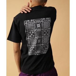 フリークスストア(FREAK'S STORE)のバックプリントTシャツ ブラック Mサイズ(Tシャツ/カットソー(半袖/袖なし))