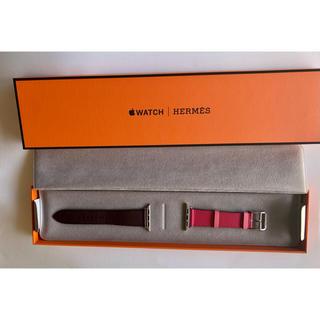 エルメス(Hermes)のApple Watch HERMES シンプルトゥール レザーストラップ(腕時計)