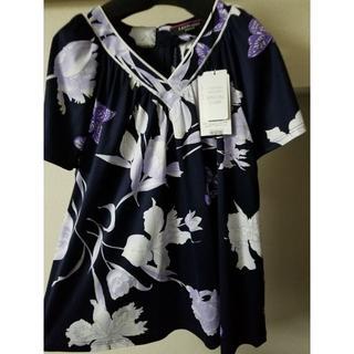 LEONARD - ☆タグ付未使用☆ レオナール コットンTシャツ 大きいサイズ 42