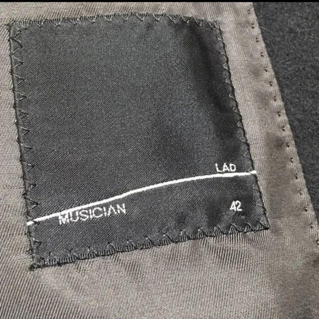 LAD MUSICIAN(ラッドミュージシャン)のLAD MUSICIAN チェスターコート メンズのジャケット/アウター(チェスターコート)の商品写真