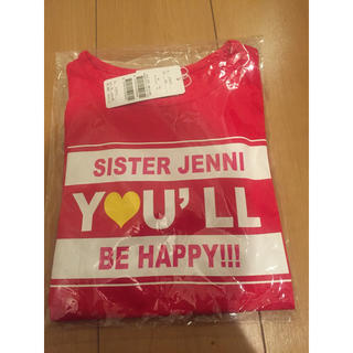 JENNI - jenni  150㎝  ジェニー 長袖 Tシャツ レッド 赤  新品