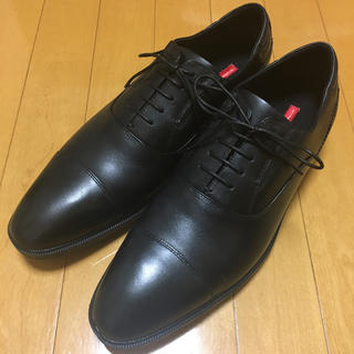 アシックス(asics)の【新品】革靴 ブラック テクシーリュクス texcy luxe(ドレス/ビジネス)