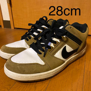 NIKE - 28cm NIKE SB AIR FORCE 2 LOW ESCAPEカラー