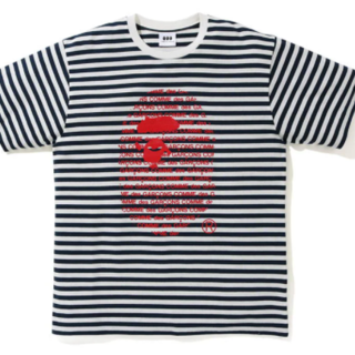 アベイシングエイプ(A BATHING APE)のCDG OSAKA X BAPE HOOP TEE 黒 XL(Tシャツ/カットソー(半袖/袖なし))