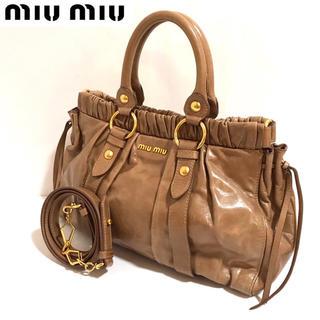miumiu - 【正規品】miumiu ✨ミュウミュウ 2wayバッグ