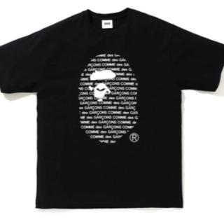 アベイシングエイプ(A BATHING APE)のCDG OSAKA X BAPE TEE #2 黒 XL(Tシャツ/カットソー(半袖/袖なし))