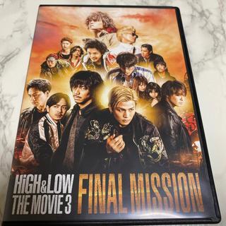 エグザイル トライブ(EXILE TRIBE)のHiGH & LOW THE MOVIE 3/FINAL MISSION DVD(日本映画)