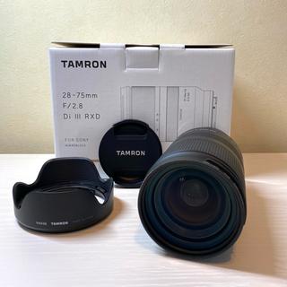 タムロン(TAMRON)のTamron 28-75mm F/2.8 Di III RXD(ミラーレス一眼)