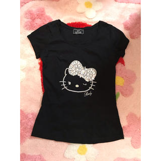 レディー(Rady)のキティ♡ビジューTシャツ♡(Tシャツ(半袖/袖なし))