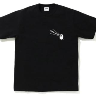 アベイシングエイプ(A BATHING APE)のCDG OSAKA X BAPE TEE #1 黒 XL(Tシャツ/カットソー(半袖/袖なし))