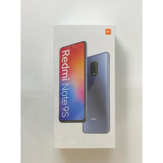 ANDROID - Redmi Note 9S 4GB/64GB グレー