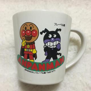 アンパンマン(アンパンマン)の金土日限定お値下げ!未使用♬アンパンマン♬マグカップ♬バイキンマン♫(グラス/カップ)