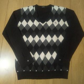 バーバリーブラックレーベル(BURBERRY BLACK LABEL)の良好 バーバリーブラックレーベル ニット セーター(ニット/セーター)