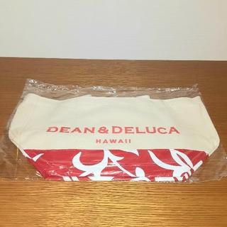DEAN & DELUCA - DEAN&DELUCA トートバッグ HAWAII限定 ハイビスカス柄 人気の赤