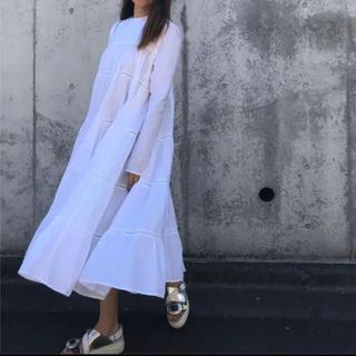 ロンハーマン(Ron Herman)のマーレット Merlette Soliman dress ホワイトワンピース(ロングワンピース/マキシワンピース)