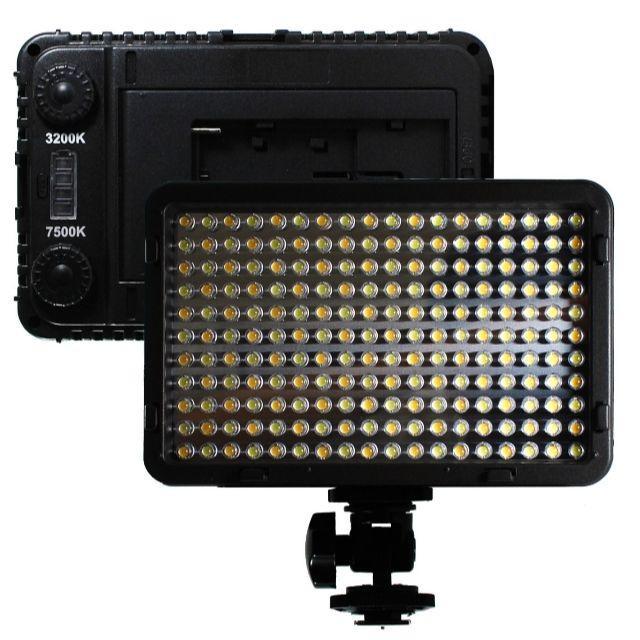 新品サンプル品【c33】定常光ライト LED 260球 大光量 スマホ/家電/カメラのカメラ(ストロボ/照明)の商品写真
