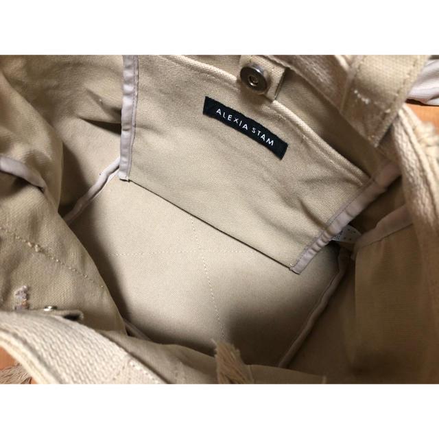 ALEXIA STAM(アリシアスタン)のアリシアスタン  バック レディースのバッグ(トートバッグ)の商品写真