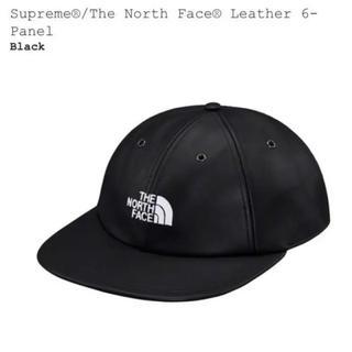 Supreme - Supreme×The North Face レザーキャップ ブラック 未使用