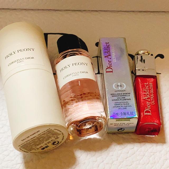 Christian Dior(クリスチャンディオール)のディオール 香水&グロス コスメ/美容のベースメイク/化粧品(リップグロス)の商品写真