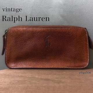Ralph Lauren - Ralph Lauren(ラルフローレン)◆レザー ポーチ◆メンズ レディース