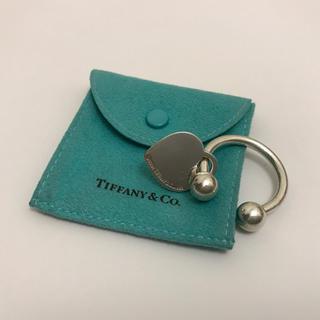 ティファニー(Tiffany & Co.)のティファニー キーリング  ハート AB23(キーホルダー)