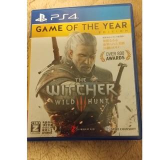 ウィッチャー3 ワイルドハント ゲームオブザイヤーエディション PS4(家庭用ゲームソフト)