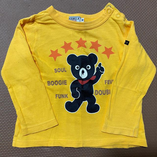 DOUBLE.B(ダブルビー)の「そままん様専用」DOUBLE.B ロンT Tシャツ キッズ キッズ/ベビー/マタニティのキッズ服男の子用(90cm~)(Tシャツ/カットソー)の商品写真