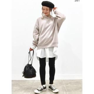 IENA - ★新品 タグ付き GU ジーユー 美シルエット バンドカラーロングシャツ