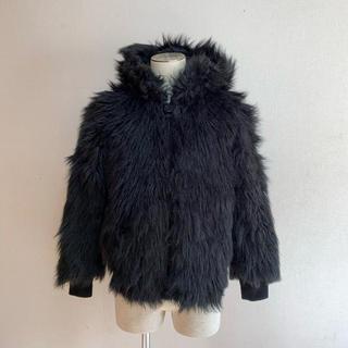 ディーゼル(DIESEL)のディーゼル フェイクファー ブルゾン XS ジャケット (毛皮/ファーコート)