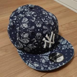 ニューエラー(NEW ERA)のnewera  ニューエラ キャッフ 帽子 スナップバック ペイズリー柄(帽子)