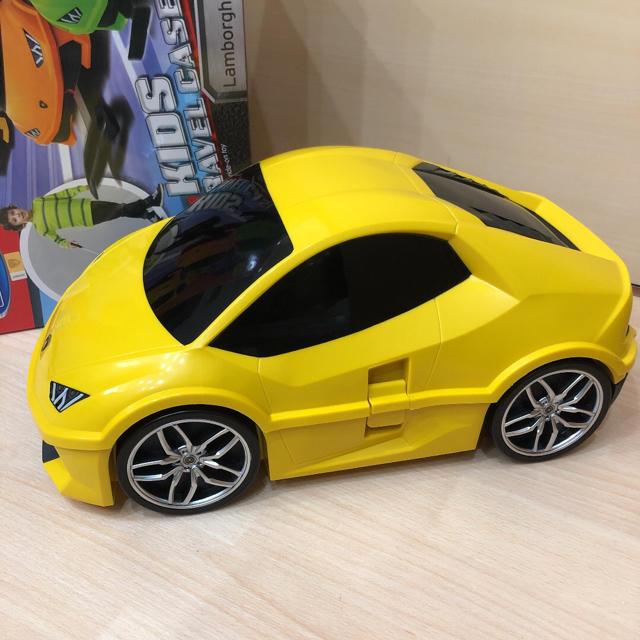 Lamborghini(ランボルギーニ)のランボルギーニウラカン   子供用キャリーケース 新品未使用 レディースのバッグ(スーツケース/キャリーバッグ)の商品写真