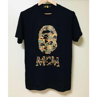 A BATHING APE - A bathing ape x MCM コラボ Tシャツ