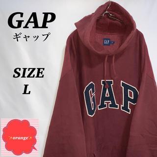 GAP - 【90s】GAP  ギャップ パーカー トレーナー 刺繍ビッグロゴ ビッグサイズ