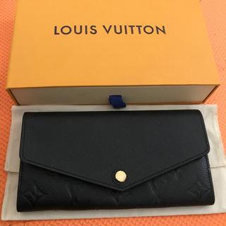 LOUIS VUITTON - 極美品★ ルイヴィトン ポルトフォイユ サラ モノグラム アンプラント 長財布