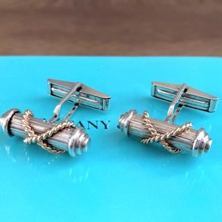 ティファニー(Tiffany & Co.)のティファニー カフス カフリンクス 18K 750巻き(カフリンクス)