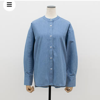 DEUXIEME CLASSE - 新品タグ付き yonfa boxy slit shirt  denim