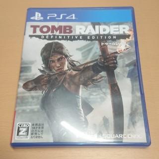 プレイステーション4(PlayStation4)のトゥームレイダー ディフィニティブ エディション PS4 ソフト(家庭用ゲームソフト)