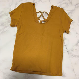 グレイル(GRL)の【未使用】GRL半袖トップス(Tシャツ(半袖/袖なし))