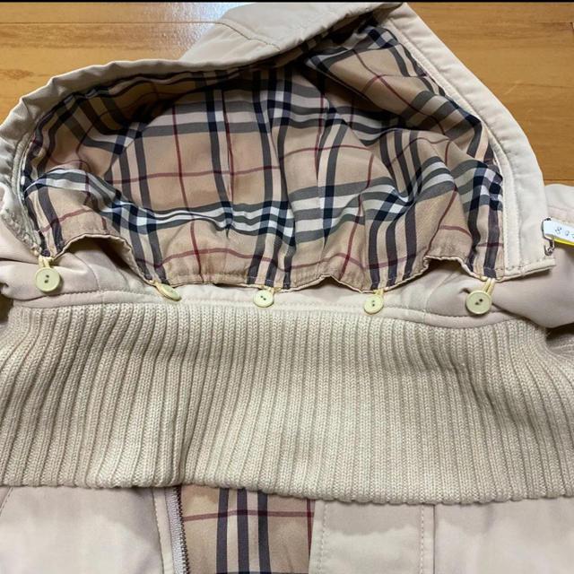 BURBERRY(バーバリー)のバーバリー ブルゾンジャンパー キッズ/ベビー/マタニティのキッズ服男の子用(90cm~)(ジャケット/上着)の商品写真