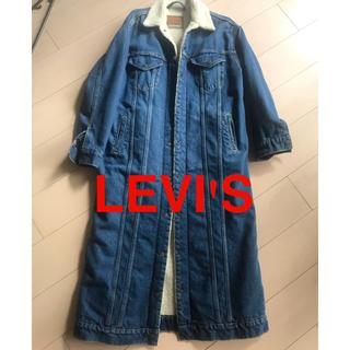 Levi's - リーバイス デニム ロング ボア コート
