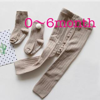韓国子供服 ベビーレギンス 靴下(靴下/タイツ)