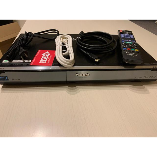 Panasonic(パナソニック)のPanasonic ブルーレイレコーダー DMR-BW850 スマホ/家電/カメラのテレビ/映像機器(ブルーレイレコーダー)の商品写真