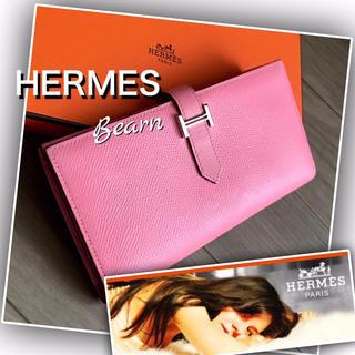 Hermes - 【美品☆正規品】HERMES 財布/ベアンスフレ 長財布 マチあり