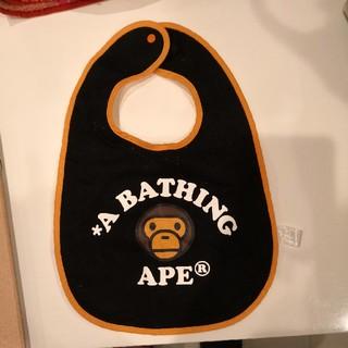 アベイシングエイプ(A BATHING APE)のアベイシングエイプ スタイ(ベビースタイ/よだれかけ)